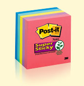 Post-it� Super Sticky Notes