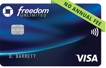 Freedom Unlimited Visa Credit card