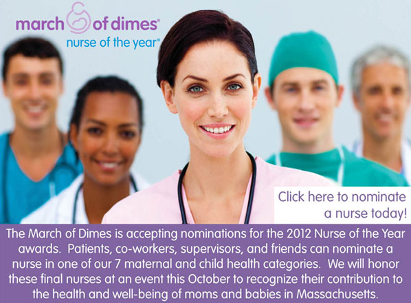 2012 Nurse of the Year nominations