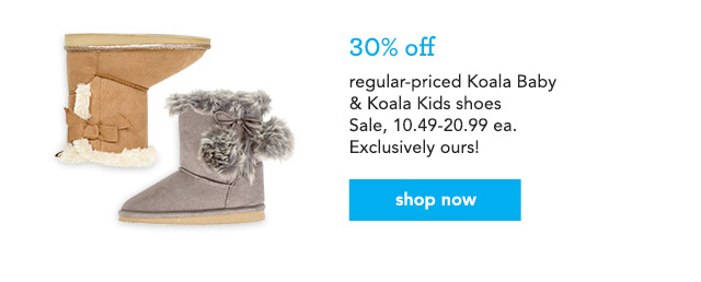 regular-priced Koala Baby & Koala Kids shoes