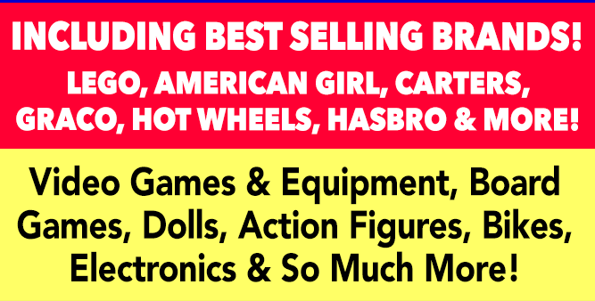 INCLUDING BEST SELLING BRANDS!