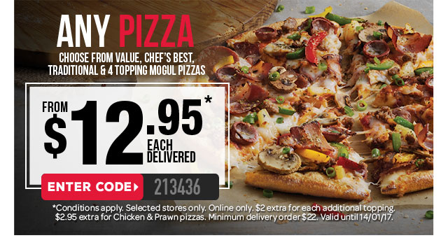Dominos coupons townsville